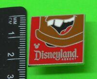 Used Small Disney Enamel Pin Badge Tow Mater Hidden Mickey Chin Pin