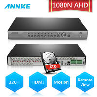 ANNKE 32CH Channel HDMI H.264 CCTV 1080N 3IN1 AHD DVR for Security Camera System