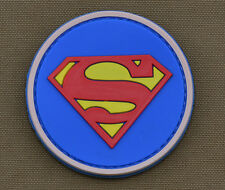 """PVC / Rubber Patch """"Superman"""" with VELCRO® brand hook"""