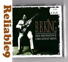 B. B. King - His definitive Greatest hits 2CD Sealed 34 tracks - 1993 MCA EU