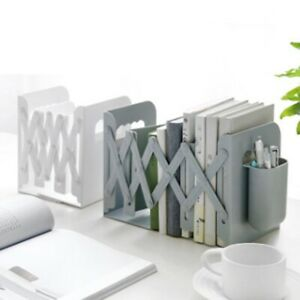 Retractable Bookcase For Book Shelves With Pen Holder Bookcase Folder Stoppers