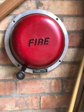 More details for vintage rotary industrial fire alarm bell hand cranked bromco mk.mw 13 original