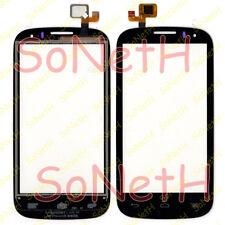 "Touch screen Alcatel ONE TOUCH POP C5 5036D 4,5"" Vetro Vetrino Digitizer Nero"