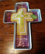 WILTON CROSS Cake Pan # 502 2502 with insert