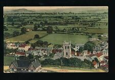 Somerset AXBRIDGE Panoramic view Used 1907 PPC by Wilkinson