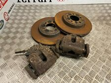 BMW E46 330i 330d SET OF FRONT CALIPERS WITH PADS & DISCS(325MM) E36 UPGRADE