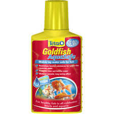 Tetra Goldfish AquaSafe Tap Water Conditioner Dechlorinator Chlorine 100ml