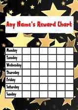 Gold Star Autocollant Récompense Tableau