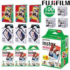 100 Sheet Fujifilm Instax Mini Instant Film Mini For 90 8 25 7S Instant Camera