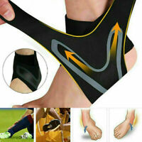 Ankle Support Strap Adjustable Brace Foot Sprains PainRelif Sports Protecto S4T7
