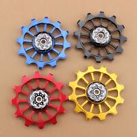 Bike Jockey Wheel Bicycle Rear Derailleur Ceramic Bearing Guide Pulley 12T