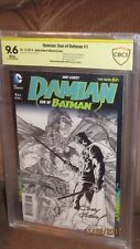 Damian Son of Batman #1 1:100 Sketch variant CBCS SS 9.6 Signed Kubert CGC