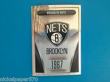2014-15 Panini NBA Sticker Collection N. 24 Brooklyn Nets Logo