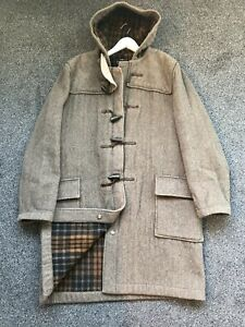 Vintage Gloverall Mens Duffle Coat, Size 48L, Perfect Condition