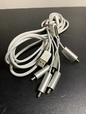 Apple 30 pin A/V RCA component cable for iPod, iPhone, iPad