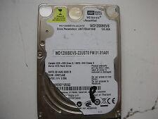 """Western Digital 120gb WD1200BEVS-22UST0 2061-701499-600 AB  2,5"""" SATA"""