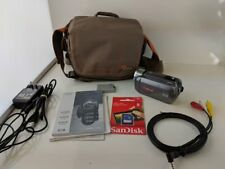 Canon VIXIA HF R200 Full HD Camcorder with Dual SDXC Card Slots w/ extras