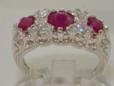 Eternity Ruby Natural Not Enhanced Fine Gemstone Rings