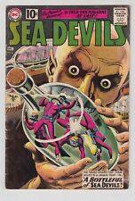 SEA DEVILS #2, 1961 DC, VG CONDITION