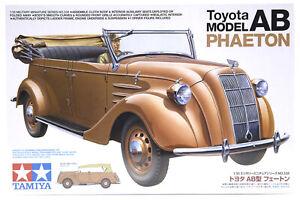 Tamiya 1/35 Toyota Phaeton Model AB Staff Car Scaled Plastic Model Kit