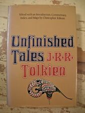 UNFINISHED TALES  Numenor & Middle Earth J R R Tolkien 1st American Ed Map HCDJ