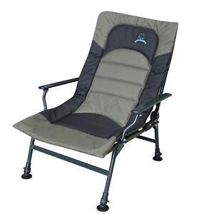 Carpzilla Camping Fishing Chair – XL Carp Green Fishing Equipment Folding Adjust