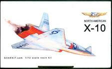 Sharkit Models 1/72 NORTH AMERICAN X-10 Unmanned Technology Demo Aircraft