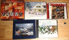 CHRISTMAS MUSIC 9 cd Home For the Holidays/Thomas Kinkade/Pop/Winter Sax NICE!!!