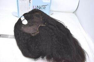 "UNice Hair Kinky Straight U Part Wig Brazilian Human Hair Wig  20"""