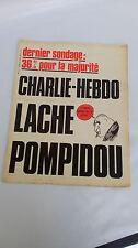 Charlie Hebdo  n 117 du 12 fevrier 1973 original d'époque