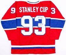 """Patrick Roy & John LeClair Signed Canadiens """"Stanley Cup"""" Jersey (JSA COA)"""