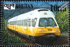 DB German Railways Lufthansa Class 403 Electric Multiple Unit EMU Train Stamp #1