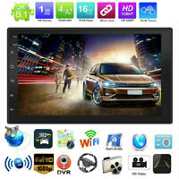 2Din 4-Core Android 8.1 GPS Navi WiFi BT USB 7in Car Stereo MP5 Player FM Radio