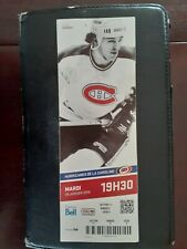 MONTREAL CANADIENS OLD TICKET STUB CLAUDE LEMIEUX