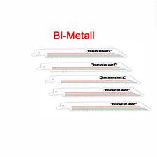Sägeblätter für Säbelsäge FERM RSM 1017 1018 FDRS 600 5 St. Bi Metall Nagelfest