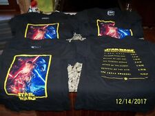 42 STAR WARS The Force Awakens T-Shirt LOT Youth Sizes SMALL & MEDIUM & bags