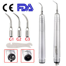 Usa Dental Ultrasonic Air Perio Scaler Handpiece Hygienist 24 Holes With 3 Tips