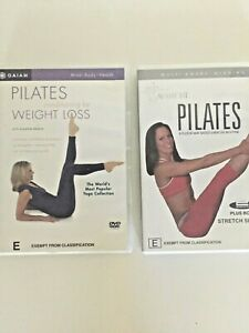 PILATES DVD,2,Aussie Fit, Floor Mat Based Routine, Conditioning for Weight Loss