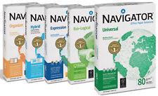 Navigator  DIN A3 Universal Kopierpapier  80g  weiß  12500 Blatt   Druckerpapier