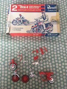 Revell Model Kit Motorcycle BSA For Spares Interesting Box