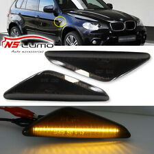 Smoked Led Side Marker Lights for BMW E70 X5 E71 X5 E72 X6 F25 X3 2007-2012 2Pcs