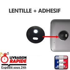 Vitre arrière caméra Motorola Moto G5S Lentille verre appareil photo Lens NOIR