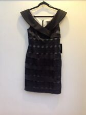 Js Boutique Designer Womens Black/Nude Lace Dress Size 10 RRP £150 - New w Tags