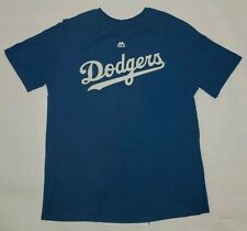 Los Angeles Dodgers Majestic T Shirt XL Youth Pederson 31 Shirt Royal Blue