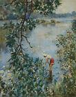 Howard Chandler Christy Knee Deep In June Canvas Print 16 x 20  #3959