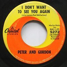 Rock 45 Peter And Gordon - I Don'T Want To See You Again / I Would Buy You Prese