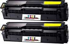 2x TONER REFILL CARTRIDGE für SAMSUNG CLP-680ND YELLOW kompat. zu CLT-Y506L