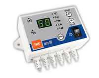 Heizkesselregler MTS-10 für Kesselgebläse, Vorlaufpumpe und Warmwasserspeicher