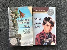 2 Newbery Books Banner in the Sky James Ramsey & Ullman What Jamie Saw Coman pb