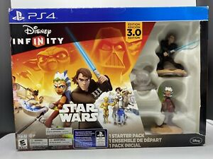 Disney Infinity Star Wars 3.0 Edition Starter Pack for PS4 New Some w Box Wear